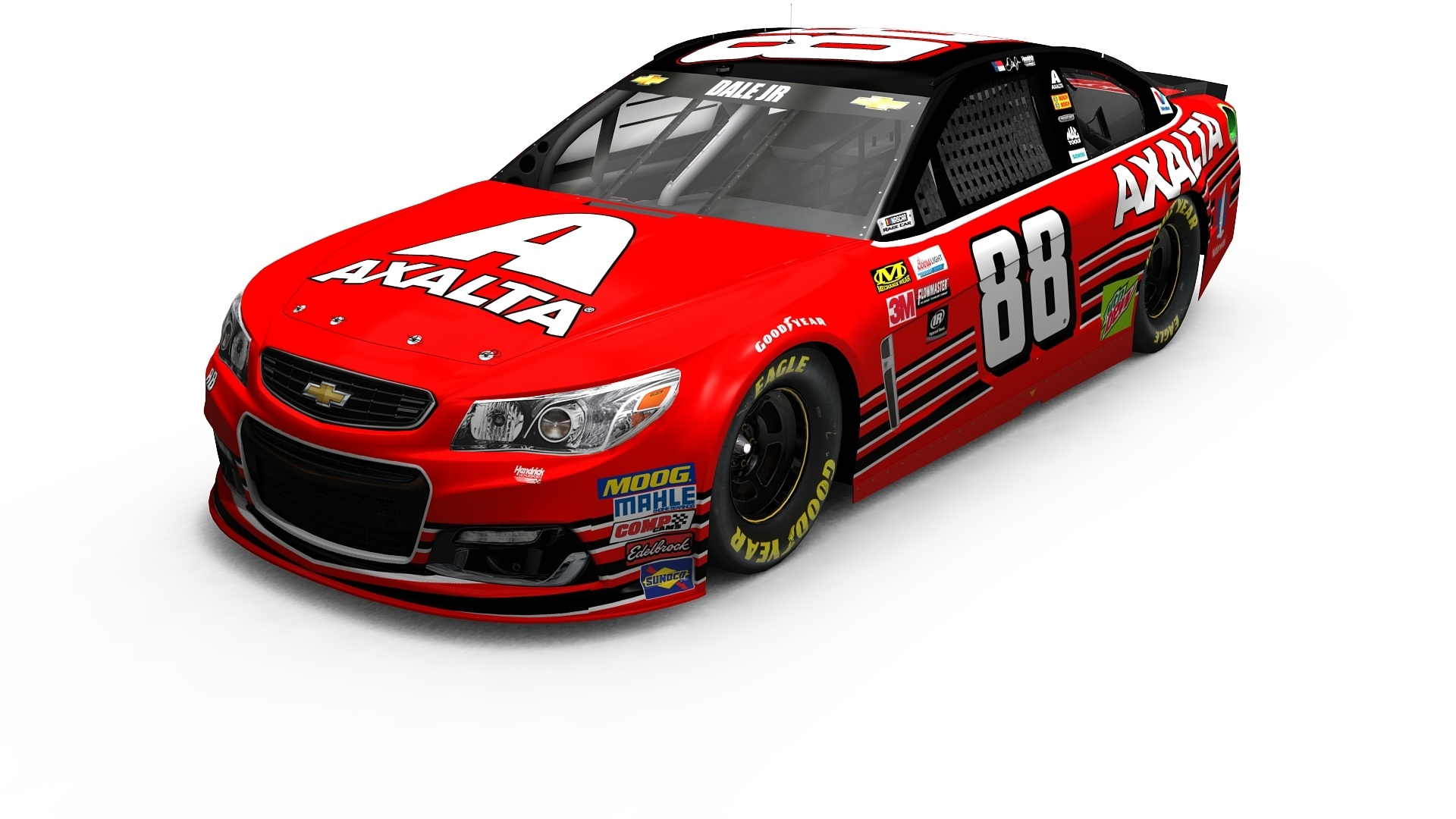 Axalta Debuts Cromax EZ on Dale Earnhardt Jr.'s Last NASCAR Cup Series Car at the 2017 SEMA Show