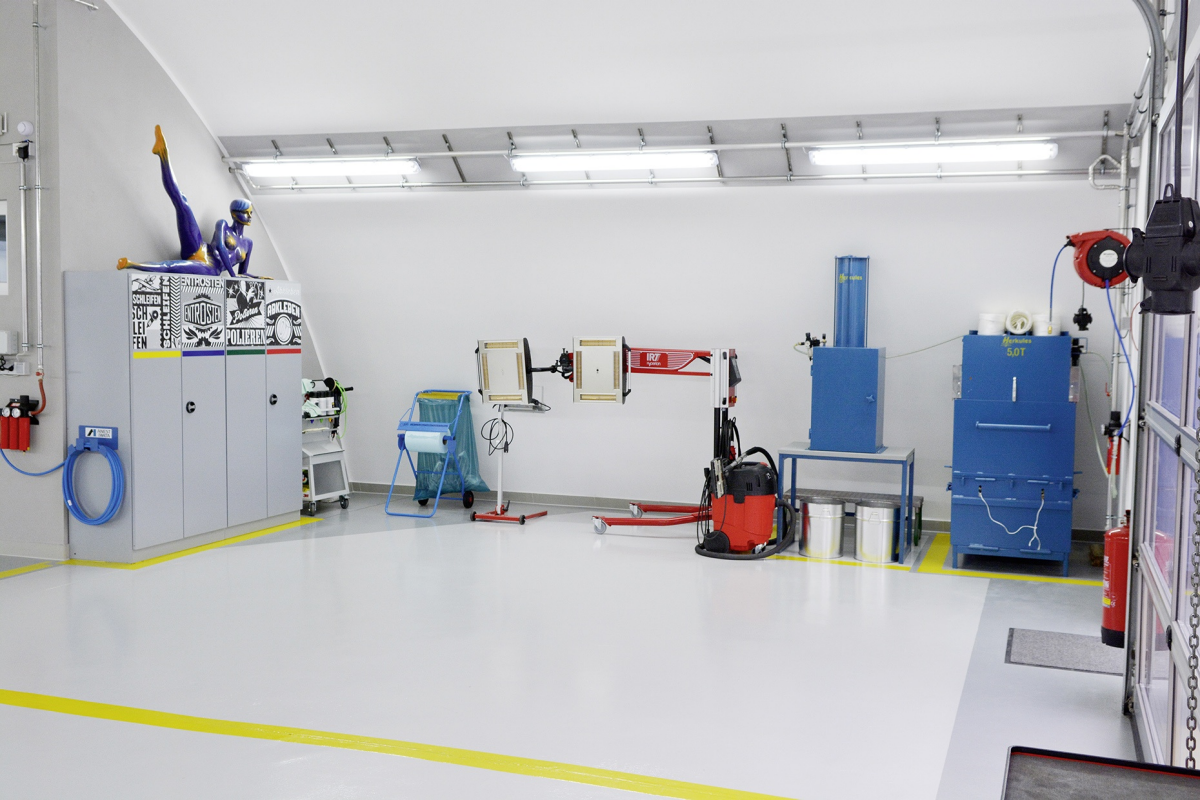 Axalta Refinish Training Center Oeynhausen/Traiskirchen