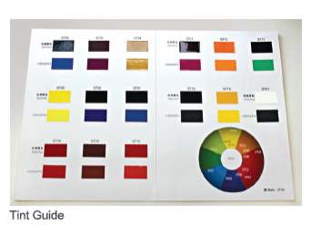 Nason Industrial Tint Guide