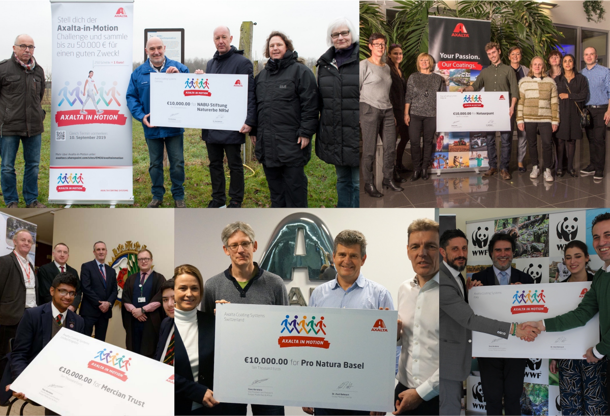 Axalta Donates 50,000Euros to STEM and Environmental Stewardship Causes in EMEA