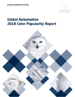 2018 Color Popularity Report