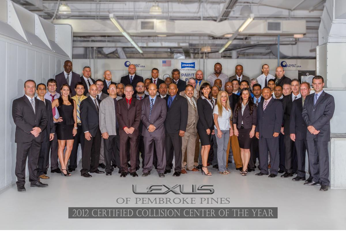 Lexus Certified Collision Center - Lexus collision center