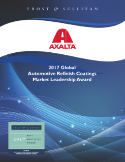 Axalta Coating Systems Award Write up